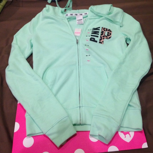 PINK Victoria's Secret - Brand New With Tags Pink Vs Mint Sweater ...