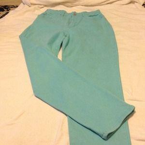 Gloria Vanderbilt Denim - Turquoise Jeans
