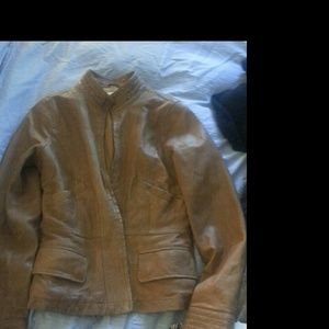 Vince Leather Jacket still available!!!