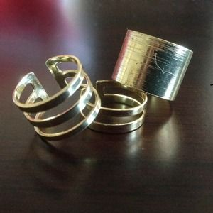 Adjustable Gold Rings