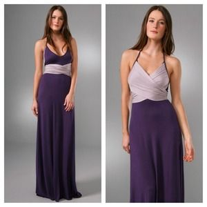 Rachel Pally Dresses & Skirts - NWT Rachel Pally Long Two Tone Halter Dress