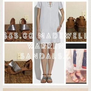 Madewell warren sandals size 7.. In search of 61/2