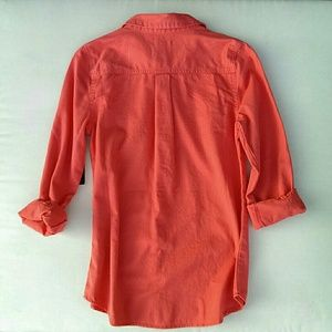 f13a11c8 Old Navy Tops - Old Navy coral button down shirt - NWT!