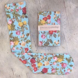 ✨2XHP✨Strathcona Stockings Floral Seafoam