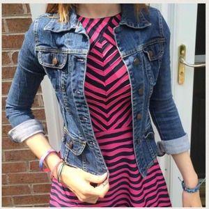 Jackets & Blazers - Jean Jacket, Shirt, & Vera Bradley bundle
