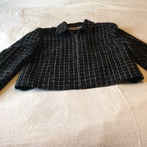 Amanda Smith Jackets & Blazers - Wool Tweed Jacket