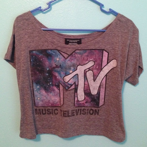 9c77d98e Wet Seal Tops | Traded Thru Vinted Mtv Crop Top | Poshmark