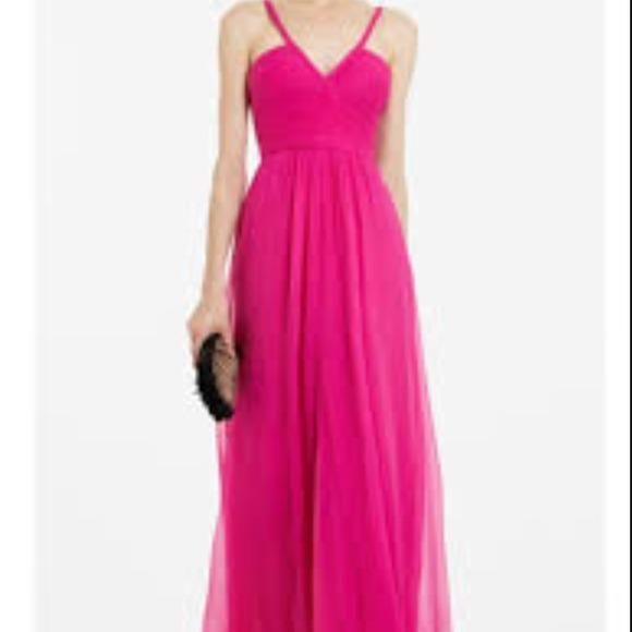 BCBG Dresses | Hot Pink Hall Prom Dress Evening Gown Sz 2 | Poshmark