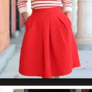 H&M Dresses & Skirts - Red MIDI Skirt
