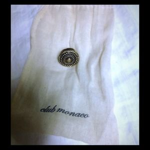 Club Monaco bronze ring size 6