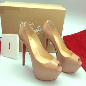 repica shoes - 50% off Christian Louboutin Shoes - Christian Louboutin Highness ...