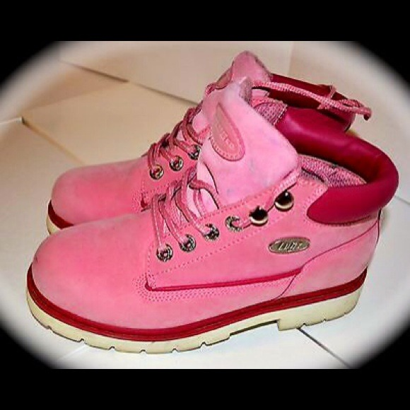 Lugz - LUGZ PINK SIZE 6.5 WOMEN BOOTS! from Echie's closet