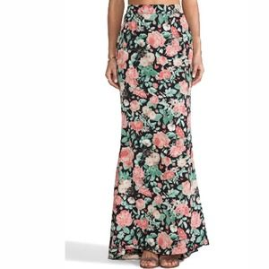 Lovers + Friends floral maxi skirt