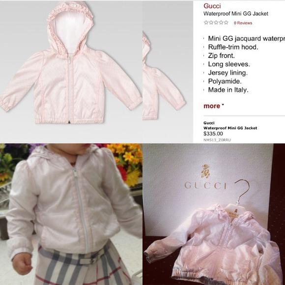81cd21e9a Gucci Jackets & Coats   Baby Toddler Girls Jacket   Poshmark