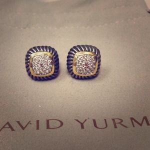 David Yurman Diamond Albion Earrings