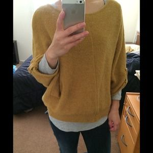 Super Cozy 3/4 Batwing Sleeves Sweater