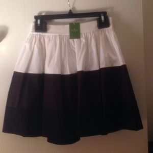 NEW MARKDOWN! Kate spade color block coreen skirt