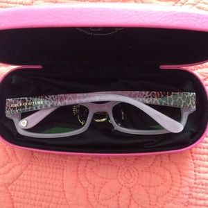 Juicy Couture Leopard Glasses