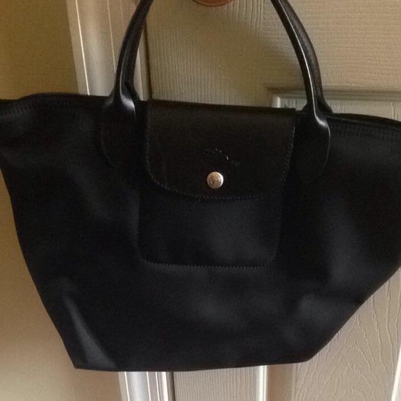 c488db680503 Longchamp Handbags - Authentic Longchamp Planetes Black Tote
