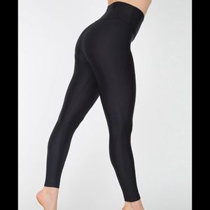 American Apparel Pants - American Apparel Nylon Tricot High Waist Legging
