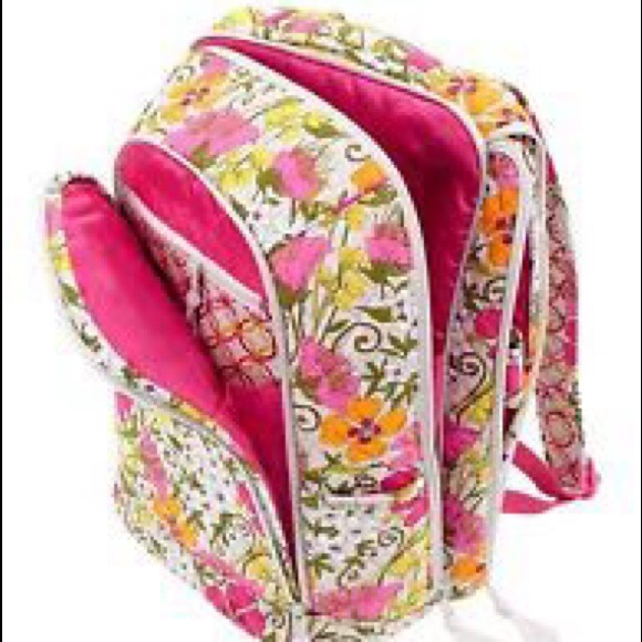 Vera Bradley Vera Bradley Laptop Backpack In Tea Garden