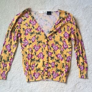 Floral Kersh Cardigan
