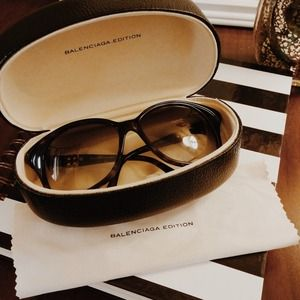  Balenciaga cat eye brown (0029) sunglasses