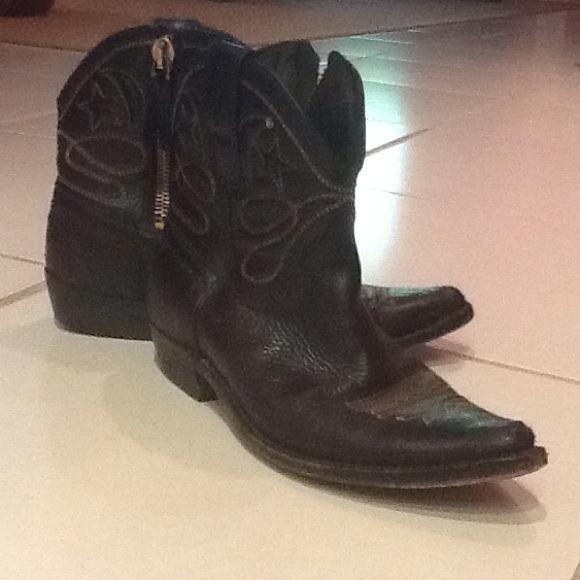 Welp Golden Goose Shoes | Distressed Star Zip Boot | Poshmark OL-28