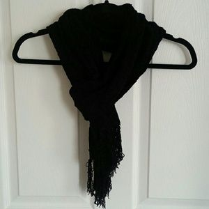 NWT Charter Club Black Scarf