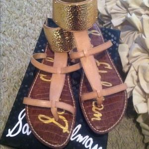 f8d414c19974 Sam Edelman Shoes - SALE  50!! Genette nude gladiator sandals