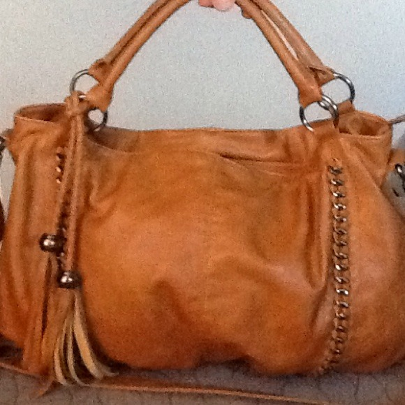 Melie Bianco - Melie Bianco Cognac Leather Hobo from Margarita's ...