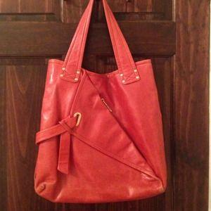 Kooba Handbags - Kooba red hobo