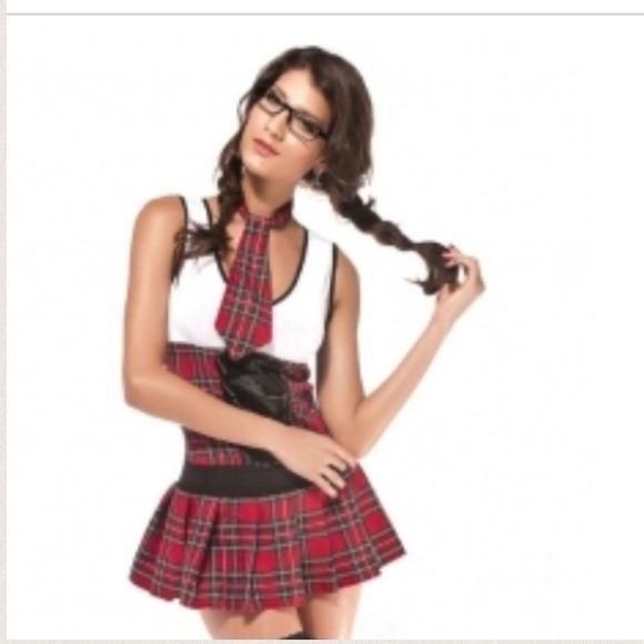 Naughty sexy school girl halloween costume xs NWOT  sc 1 st  Poshmark & Other | Naughty Sexy School Girl Halloween Costume Xs Nwot | Poshmark