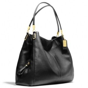SALE! Coach Madison Phoebe leather shoulder bag