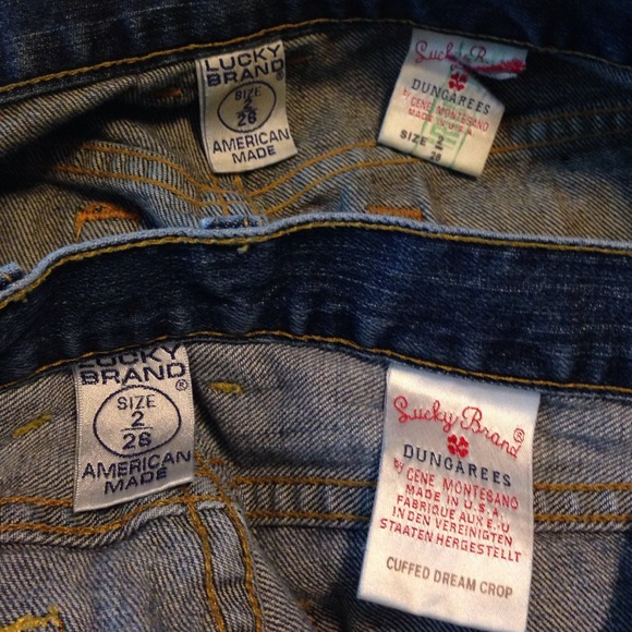 Lucky Brand Jeans - 2 Pairs Lucky Brand Jeans Shorts sz 26/2 Bundle