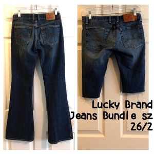 Lucky Brand Denim - 2 Pairs Lucky Brand Jeans Shorts sz 26/2 Bundle