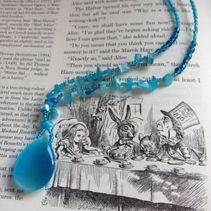 Jewelry - Sky Blue Beaded Necklace