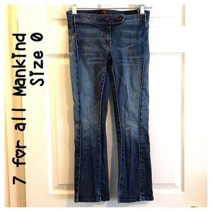 7 for all Mankind Cropped Jeans Capris 25/0 7FAMK