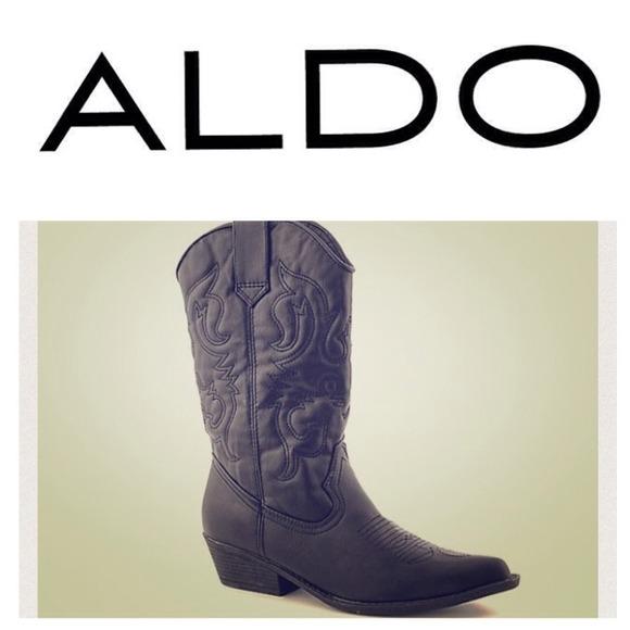 82064ad5cea REDUCED‼️ALDO Black Cowboy Boots