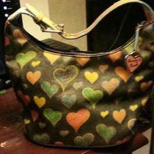 Authentic Vintage D&B Heart Bag
