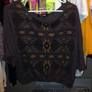 Tribal F21 shirt