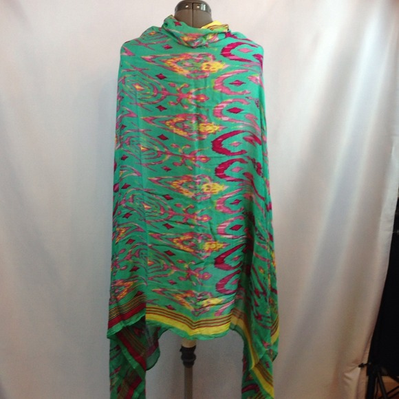 stella dot stella dot turquoise quot palm springs scarf