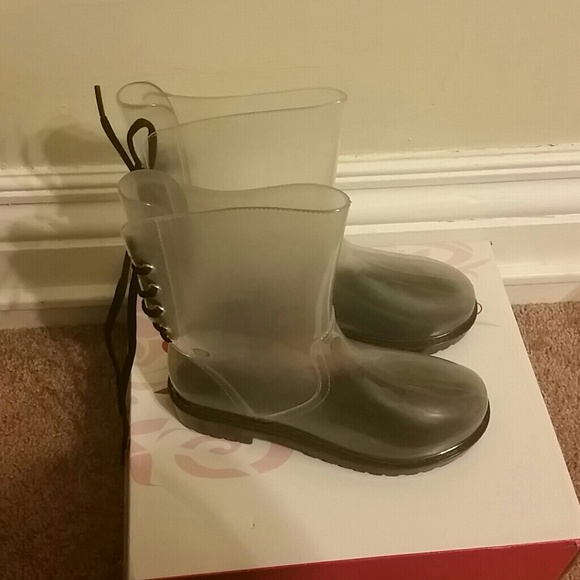 17% off Boots - Clear see through rain boots from Mrst's closet on ...