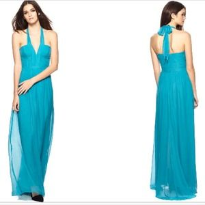 Blue gown - prom