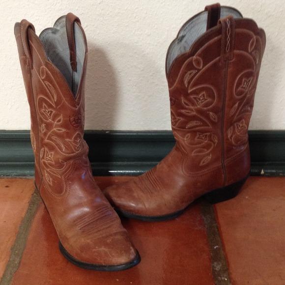 2b8c26392b Ariat Ladies Russet Heritage R-Toe Western Boots