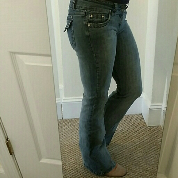 83 off hydraulic denim hydraulic jeans bootcut 39 lola. Black Bedroom Furniture Sets. Home Design Ideas