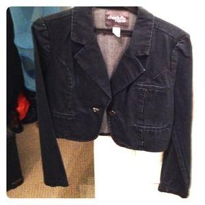 Business casual denim jacket