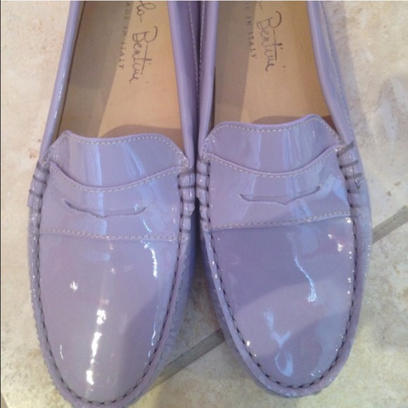 Gorgeous Light Purple Patent Loafers