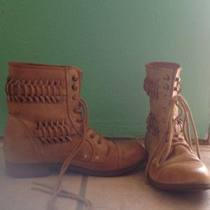 Hipster Combat Boots