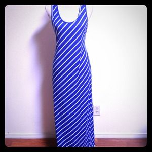 Urban Outfitters Dresses & Skirts - NWOT Blue & White Nautical Stripe Maxi